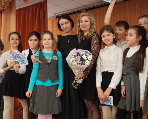 22.03.2018г. Школа № 17, г. Красногорск.