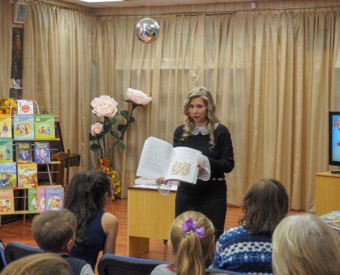 06.10.2018г. – Выступление в библиотеке 71, Гольяново перед родителями и детьми.