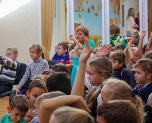 09.10.2018г. – В гостях у школы № 1579, дошкольное отделение.