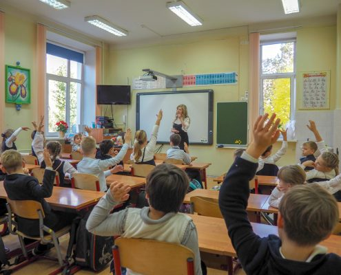 12.10.2018г. – Визит к детям школы «ШИК», Москва.