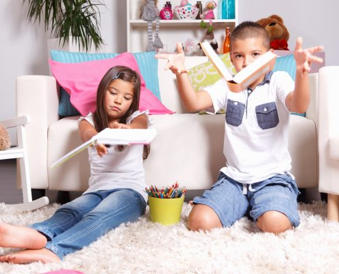 Как сформировать у ребёнка бережное отношение к книгам